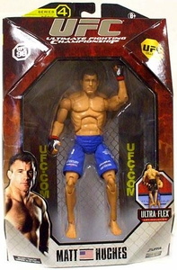 UFC Jakks Pacific Series 4 Deluxe Action Figure Matt Hughes