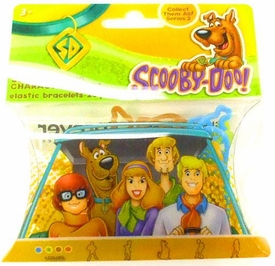 Logo Bandz Shaped Rubber Band Bracelets 20-Pack Scooby-Doo's Gang