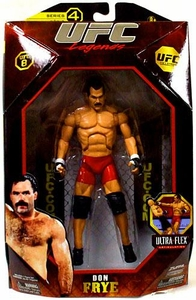 UFC Jakks Pacific Series 4 Deluxe Action Figure Don Frye [Legend]