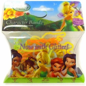 Disney Logo Bandz Shaped Rubber Band Bracelets 20-Pack Fairies [Glitter]