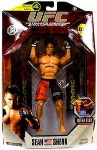 UFC Jakks Pacific Series 4 Deluxe Action Figure Sean Sherk