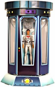 Young Justice SDCC 2011 San Diego Comic-Con Exclusive 6 Inch Action Figure Superboy in Cloning Chamber