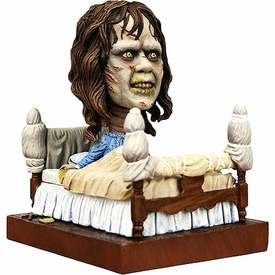 NECA Head Knocker Exorcist Bobble Head Regan in Bed