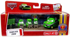 Disney / Pixar CARS Movie 1:55 Die Cast 4-Pack Team HTB Crew [Includes Chick Hicks Crew Chief!]