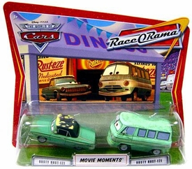 Disney / Pixar CARS Movie Moments 1:55 Die Cast Figure 2-Pack Series 4 Race-O-Rama Rusty & Dusty Rust-eze