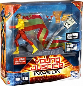 Young Justice 6 Inch Deluxe Action Figure Kid Flash