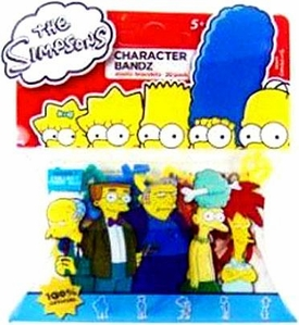 Character Bandz Shaped Rubber Band Bracelets 20-Pack The Simpsons [Series 7] BLOWOUT SALE!