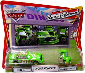 Disney / Pixar CARS Movie Moments 1:55 Die Cast Figure 2-Pack Series 4 Race-O-Rama Chick Hicks & Bruiser Bukowski