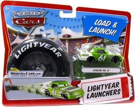 Disney / Pixar CARS Movie 1:55 Die Cast Car Lightyear Launchers Vitoline No. 61