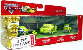 Disney / Pixar CARS Movie 1:55 Die Cast Cars Team Leakless 3-Car Gift Pack Leak Less, Chief Leak Less & Pitty