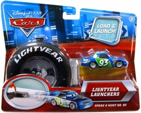 Disney / Pixar CARS Movie 1:55 Die Cast Car Lightyear Launchers Spare O Mint No. 93