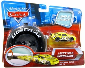 Disney / Pixar CARS Movie 1:55 Die Cast Car Lightyear Launchers Sidewall Shine No. 74