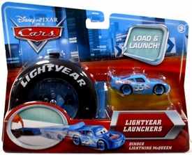 Disney / Pixar CARS Movie 1:55 Die Cast Car Lightyear Launchers Dinoco Lightning McQueen