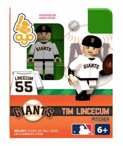 OYO Baseball MLB Building Brick Minifigure Tim Lincecum [San Francisco Giants]