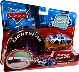 Disney / Pixar CARS Movie 1:55 Die Cast Car Lightyear Launchers Easy Idle No. 51
