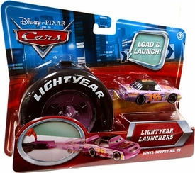 Disney / Pixar CARS Movie 1:55 Die Cast Car Lightyear Launchers Vinyl Toupee