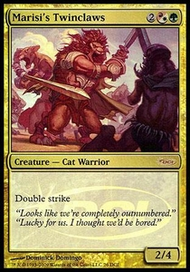 Magic the Gathering Wizards Play Network Promo Card Marisi's Twinclaws[WPN Foil]