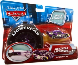Disney / Pixar CARS Movie 1:55 Die Cast Car Lightyear Launchers N2O Cola No. 68