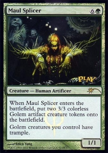 Magic the Gathering Wizards Play Network Promo Card Maul Splier [WPN Promo]