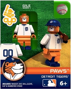 OYO Baseball MLB Building Brick Minifigure Paws [Detroit Tigers Mascot]