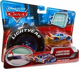 Disney / Pixar CARS Movie 1:55 Die Cast Car Lightyear Launchers Gask-Its No. 80