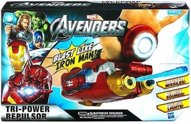 Marvel Avengers Movie Roleplay Iron Man Tri-Power Repulsor BLOWOUT SALE!