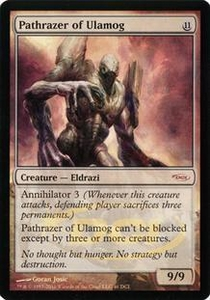 Magic the Gathering Wizards Play Network Promo Card Pathrazer of Ulamog [WPN Foil]