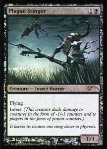 Magic the Gathering Wizards Play Network Promo Card Plague Stinger [WPN Promo]
