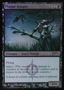 Magic the Gathering Wizards Play Network Promo Card Plague Stinger [WPN Foil]