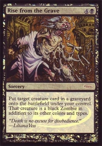 Magic the Gathering Wizards Play Network Promo Card Rise from the Grave [WPN Foil]