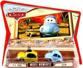 Disney / Pixar CARS Movie Moments 1:55 Die Cast Figure 2-Pack Series 3 World of Cars Flik & PT Flea