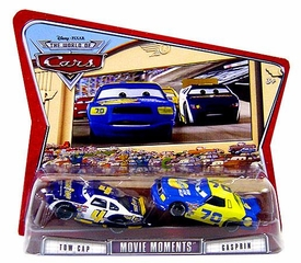 Disney / Pixar CARS Movie Moments 1:55 Die Cast Figure 2-Pack Series 3 World of Cars Tow Cap & Gasprin [Variant Package!]