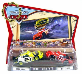 Disney / Pixar CARS Movie Moments 1:55 Die Cast Figure 2-Pack Series 3 World of Cars Leakless & 123 No Stall