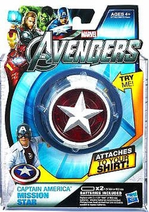 Marvel Avengers Movie Roleplay Communicator Chest Lights Captain America Mission Star