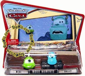 Disney / Pixar CARS Movie Moments 1:55 Die Cast Figure 2-Pack Series 3 World of Cars Mike & Sulley