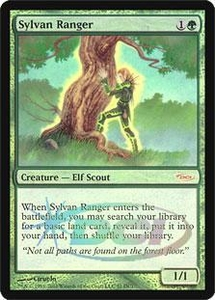 Magic the Gathering Wizards Play Network Promo Card Sylvan Ranger [WPN Foil]