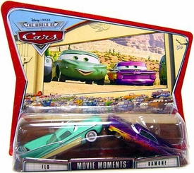 Disney / Pixar CARS Movie Moments 1:55 Die Cast Figure 2-Pack Series 3 World of Cars Flo & Ramone