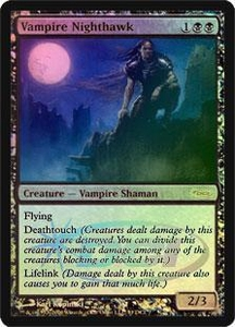 Magic the Gathering Wizards Play Network Promo Card Vampire Nighthawk [WPN Foil]