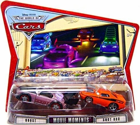 Disney / Pixar CARS Movie Moments 1:55 Die Cast Figure 2-Pack Series 3 World of Cars Boost & Snot Rod