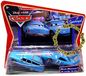 Disney / Pixar CARS Movie Moments 1:55 Die Cast Figure 2-Pack Mr. & Mrs. King [*Random Package]