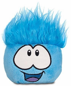 Disney Club Penguin 4 Inch Series 6 Plush Puffle Blue [Includes Coin with Code!]