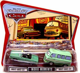 Disney / Pixar CARS Movie Moments 1:55 Die Cast Figure 2-Pack Series 3 World of Cars Rusty & Dusty Rust-eze