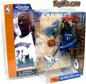 McFarlane Toys NBA Sports Picks Series 1 Action Figure Kevin Garnett (Minnesota Timberwolves) Blue Jersey Variant