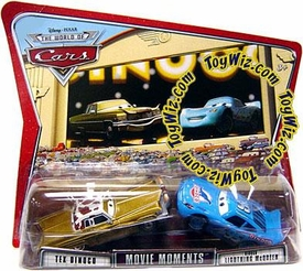 Disney / Pixar CARS Movie Moments 1:55 Die Cast Figure 2-Pack Series 3 World of Cars Tex Dinoco & Dinoco McQueen