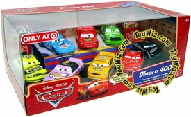 Disney / Pixar CARS Movie Exclusive 1:55 Die Cast 8-Pack Dinoco 400 [Includes Vinyl Toupee & Octane Gain]