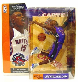 McFarlane Toys NBA Sports Picks Series 1 Action Figure Vince Carter (Toronto Raptors) Purple Jersey Variant