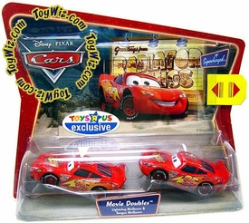 Disney / Pixar CARS Exclusive Movie Doubles 1:55 Die Cast Figure 2-Pack Lightning & Tongue McQueen