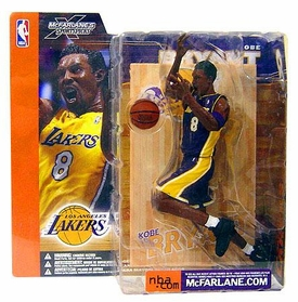 McFarlane Toys NBA Sports Picks Series 1 Action Figure Kobe Bryant (Los Angeles Lakers) Purple Jersey Variant