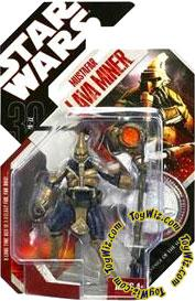 Star Wars 30th Anniversary Saga 2007 Action Figure Wave 1 #03 Mustafar Lava Miner