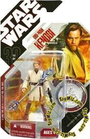 Star Wars 30th Anniversary Saga 2007 Action Figure Wave 1 #05 Obi-Wan Kenobi